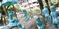 El Monumento a la Infancia totalmente restaurado