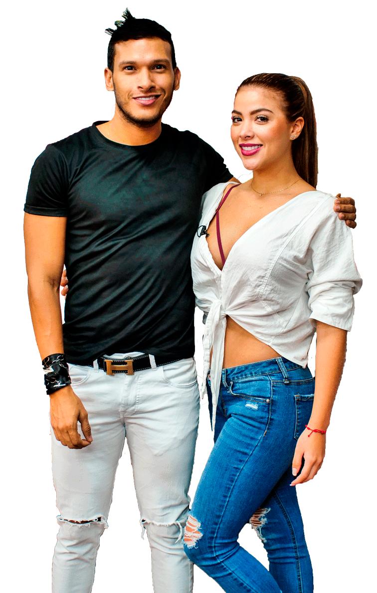 Sara y Vico Presentadores de Conectados CaliTV