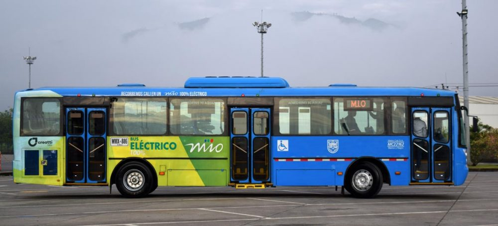 bus electrico MIO