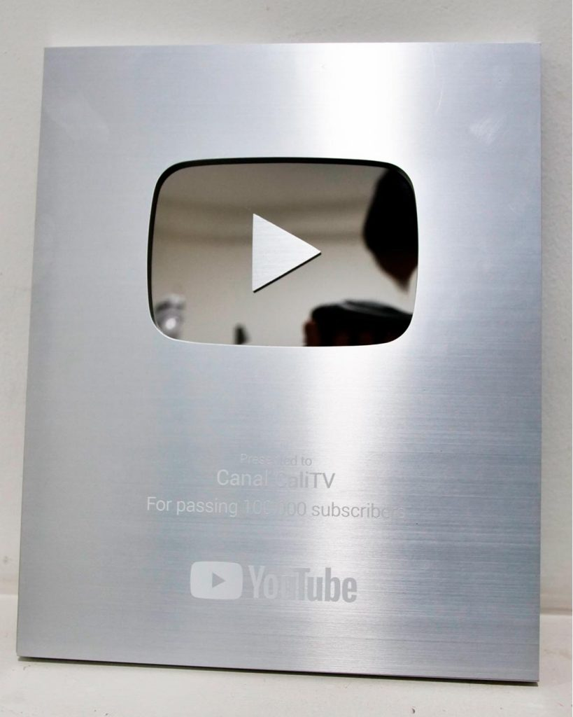 placa youtube calitv