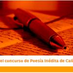 Llega el gran concurso de Poesía Inédita de Cali 2020