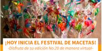 Bienvenidos al Festival de Macetas virtual 2020