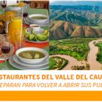 ¡Estos municipios del Valle ya re-abrieron sus restaurantes!
