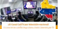 ¡A disfrutar del Canal CaliTV por televisión nacional!